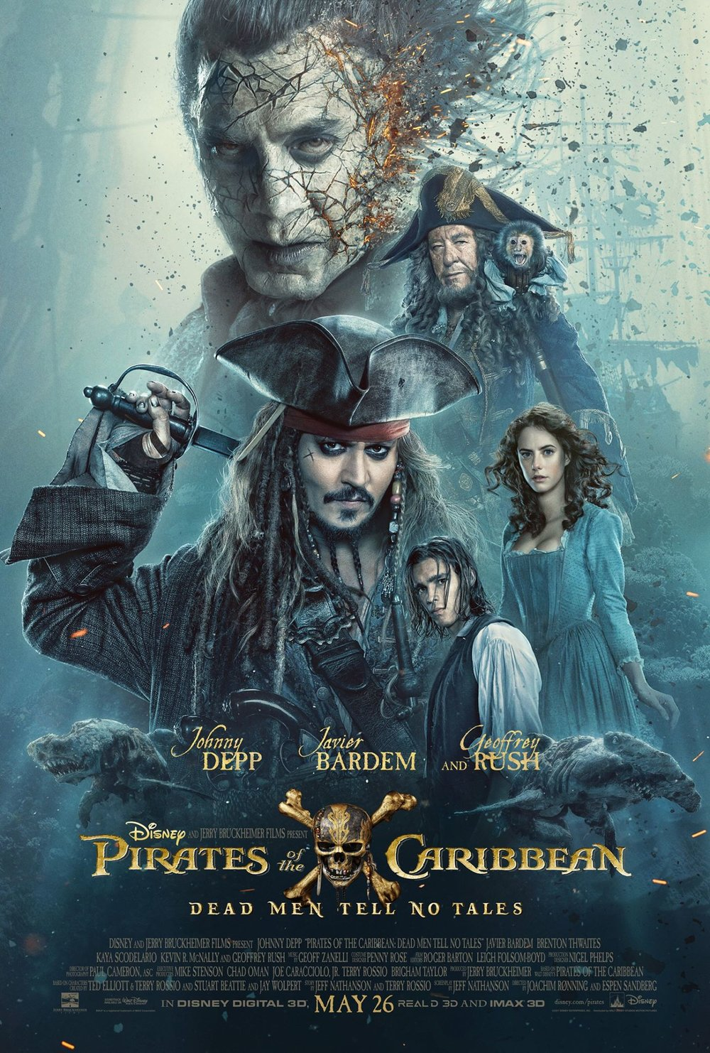 """Pirates of the Caribbean: Dead Men Tell No Tales"" (2017)"