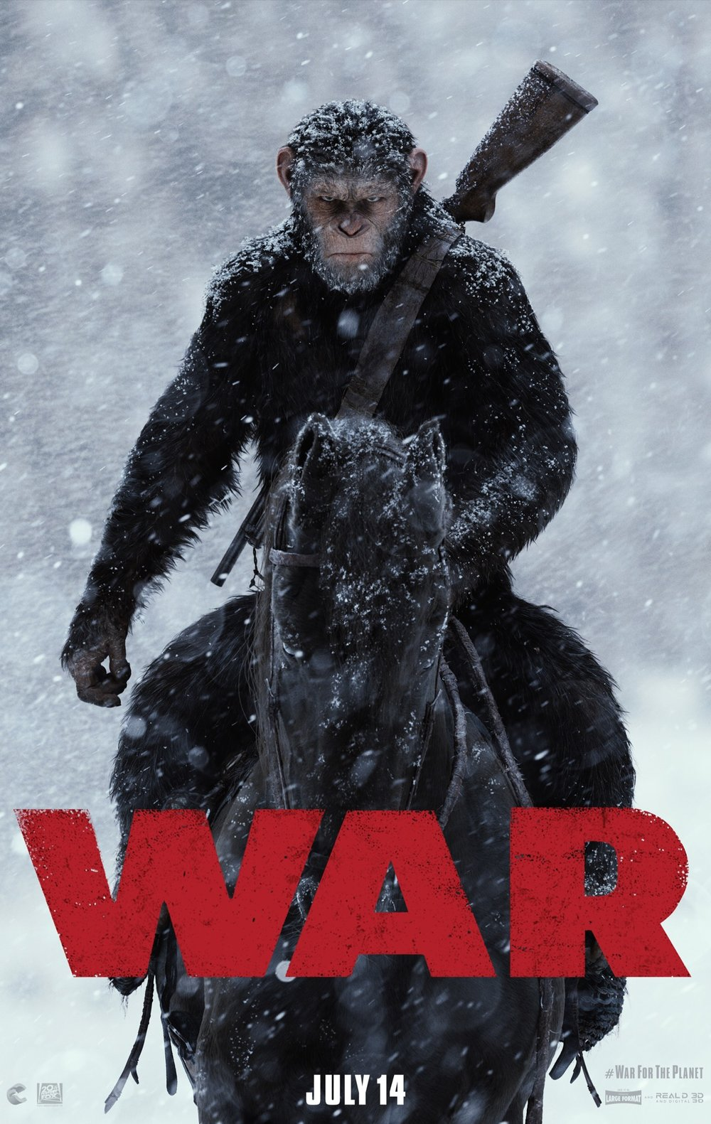 """War for the Planet of the Apes"" (2017)"