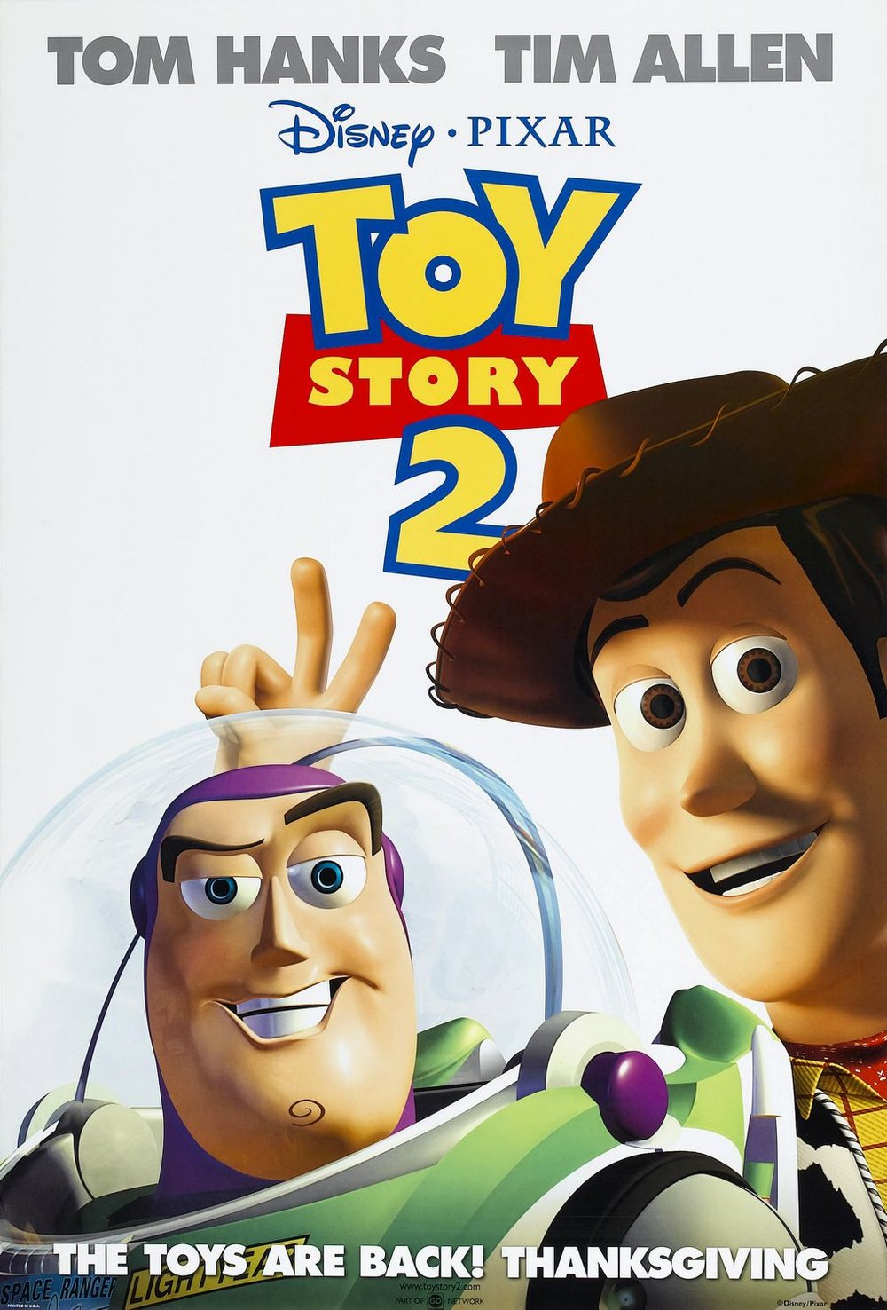 """Toy Story 2"" (1999)"