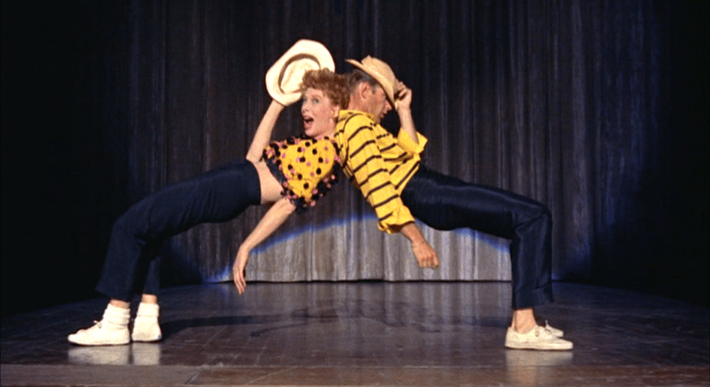 Who's got the pain? It's definitely not me, as I am thoroughly enjoying my dive into the work of Bob Fosse and Gwen Verdon (pictured in  Damn Yankees! ).