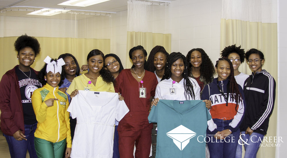 Healthcare Team Members Receive Donated Scrubs