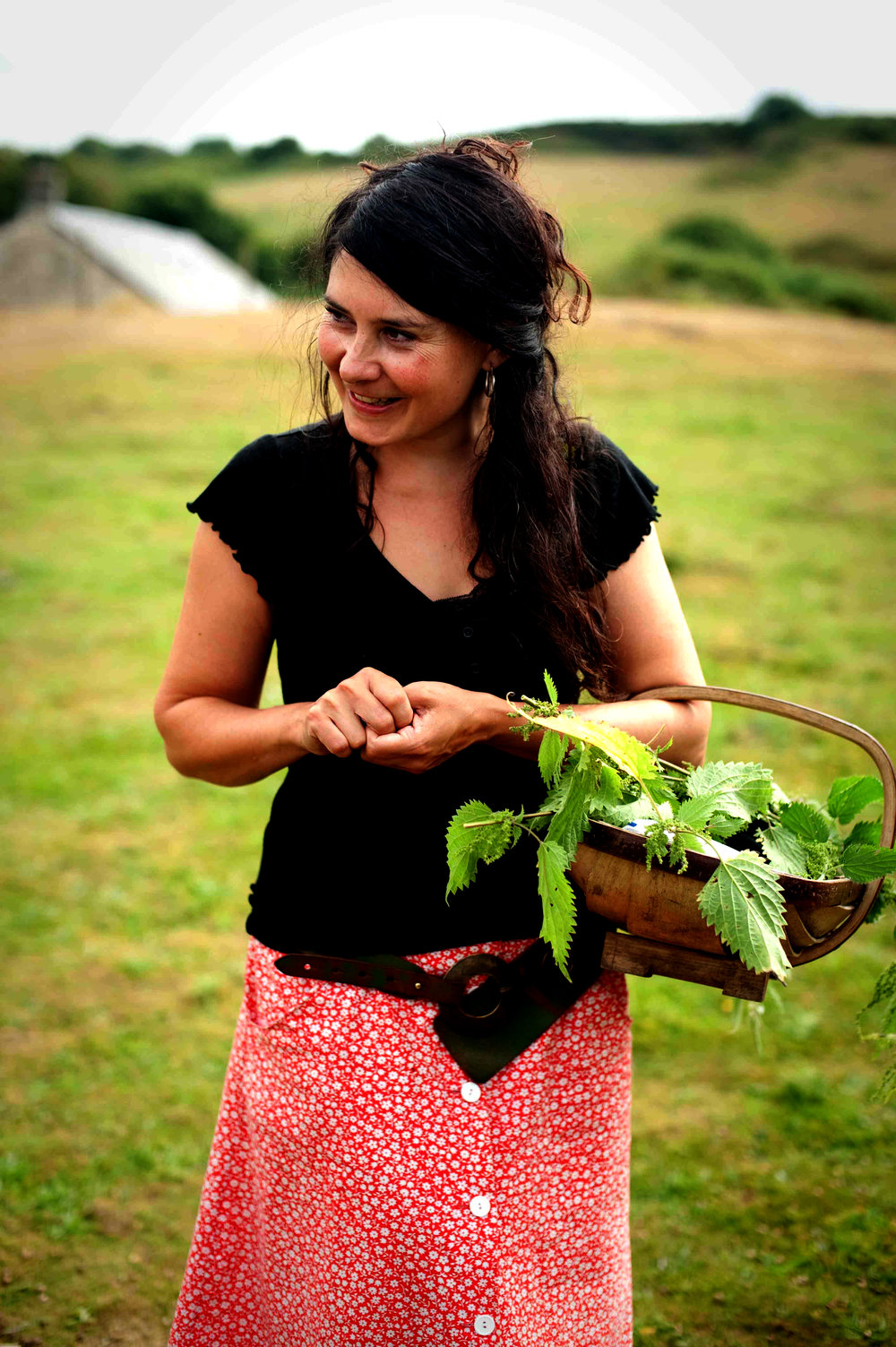 Jade Mellor - Jade Mellor has been a professional forager for over a decade, collecting wild food from the beautiful hedgerows, woodlands and coast of West Wales.  Picking what is seasonally abundant, with care and sensitivity, leaving plenty to go to seed and for the birds. She is inspired by the landscape, the changing seasons and the wild bounty of blossoms, leaves,fruits and seaweeds, which she uses to create delicious and unique food.  Jade runs seasonal walks and workshops, teaching others how to identify, gather and use wild food, with a focus on eating!
