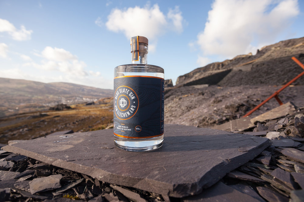 -  Crafters of truly small batch gin using only botanicals that we can grow on a wild, Welsh mountainside beneath the Dinorwig slate quarry North Wales