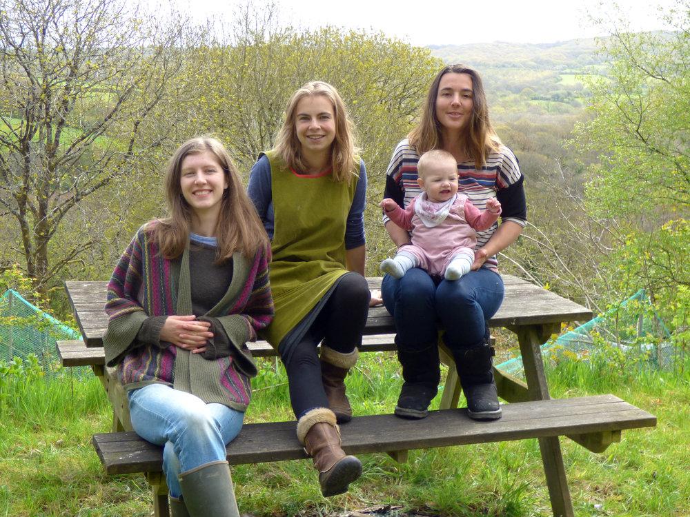 Rose, Tessa & Kimberley -