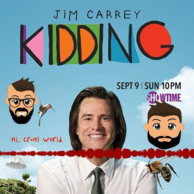 A new weekly review is up! We checked out the new Jim Carrey series @shokidding ! Make sure you subscribe, rate, and review the @friendsforeels podcast so you don't miss out on any story! ***LINK IS IN THE DESCRIPTION*** #friendsforeels #podcast #moviereview #tvreview #subscribe #jimcarrey #kidding #showtime #shokidding #mrpickles #mrrogers
