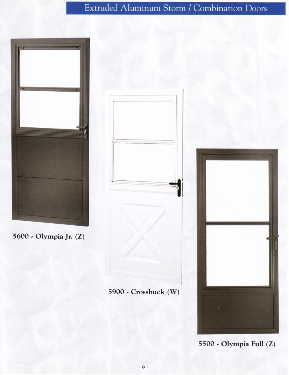 Storm Doors Active Window Products