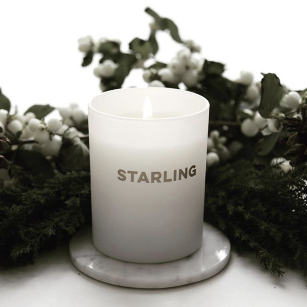 For the Optimist Leader - The person who always lights up the room with their energy and hope will love The Starling Project's Holiday Candle. Hand-poured in Brooklyn from soy wax, recycled glass, cotton wicks, and ethically-sourced essential oils, these deliciously-scented candles help develop solar energy in sub-Saharan Africa.