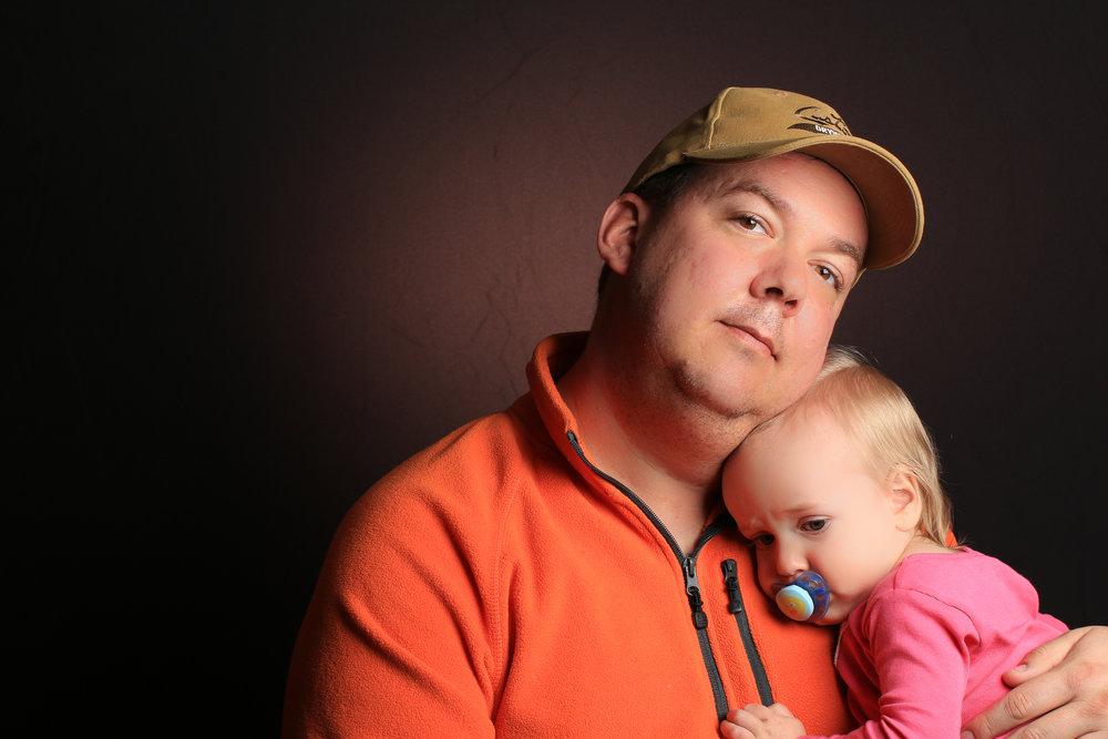 Daniel and his daughter Keira