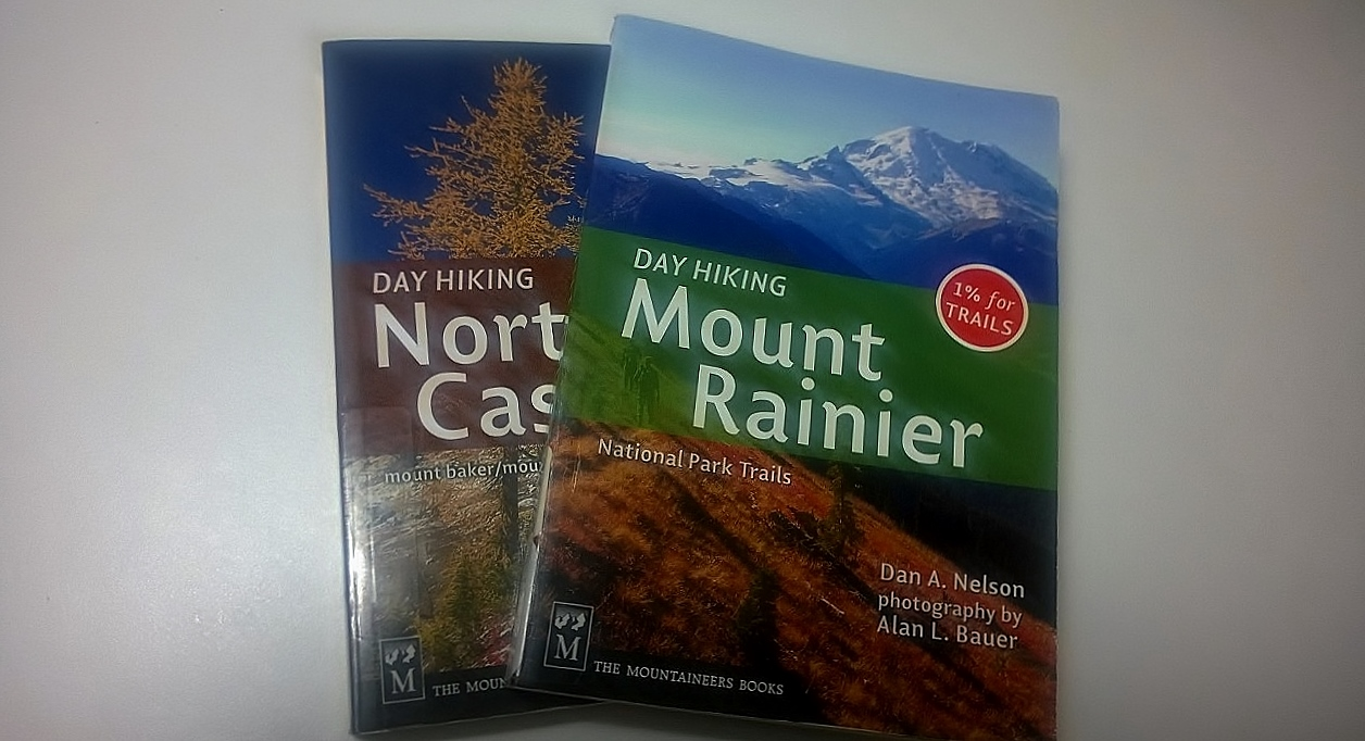 Hiking guides for Washington state.