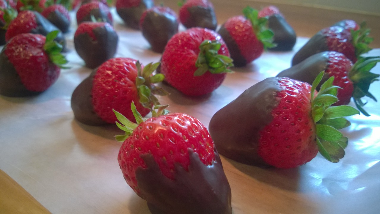 Chocolate Strawberries!