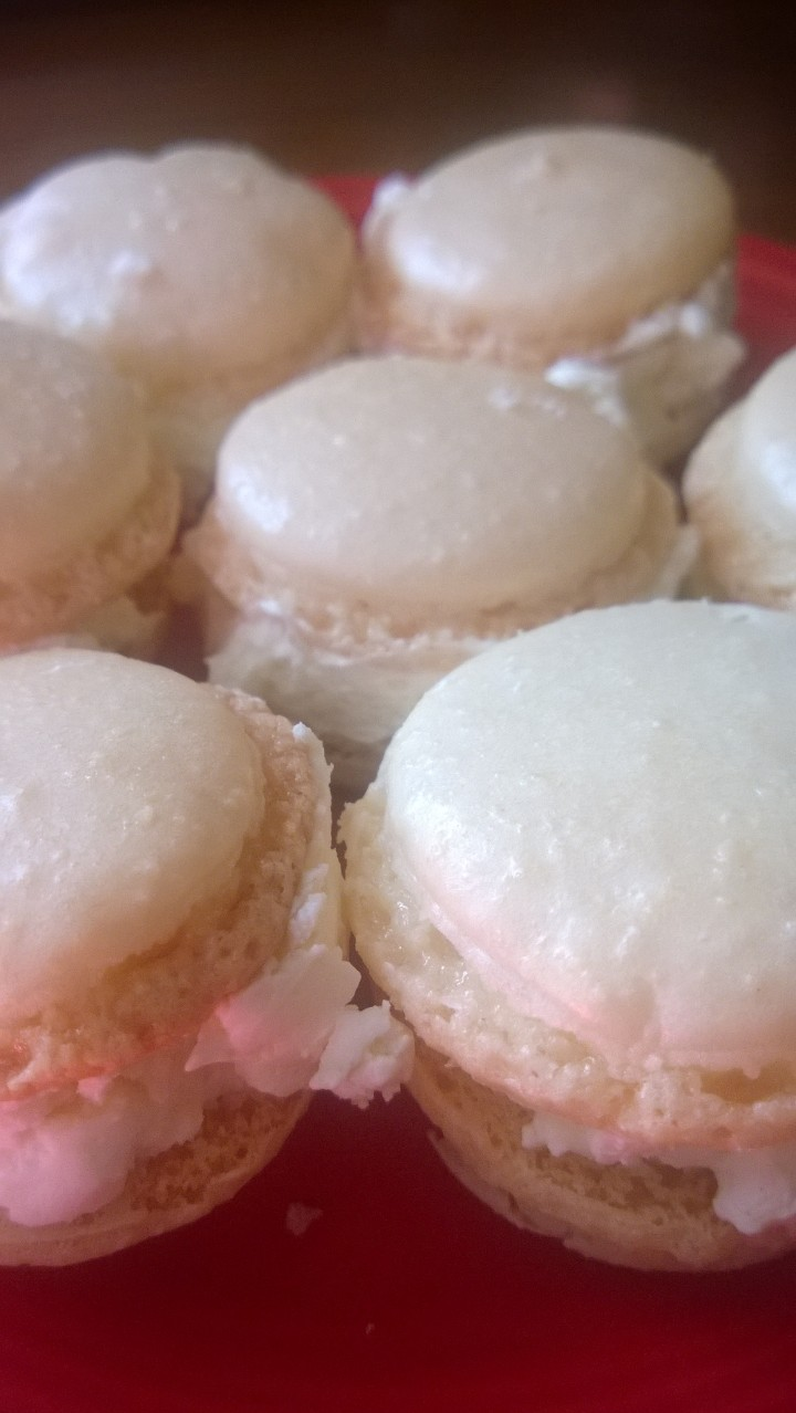 French Macaron Close Up