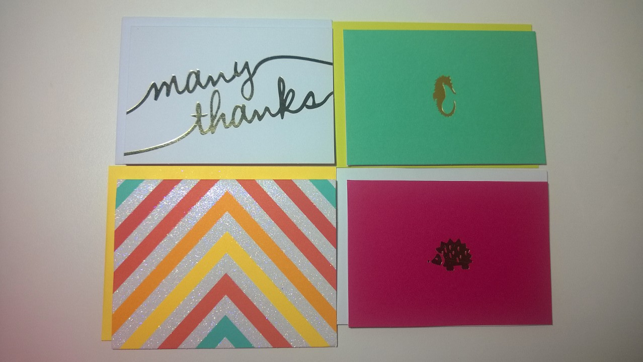 Pretty Stationery from Target
