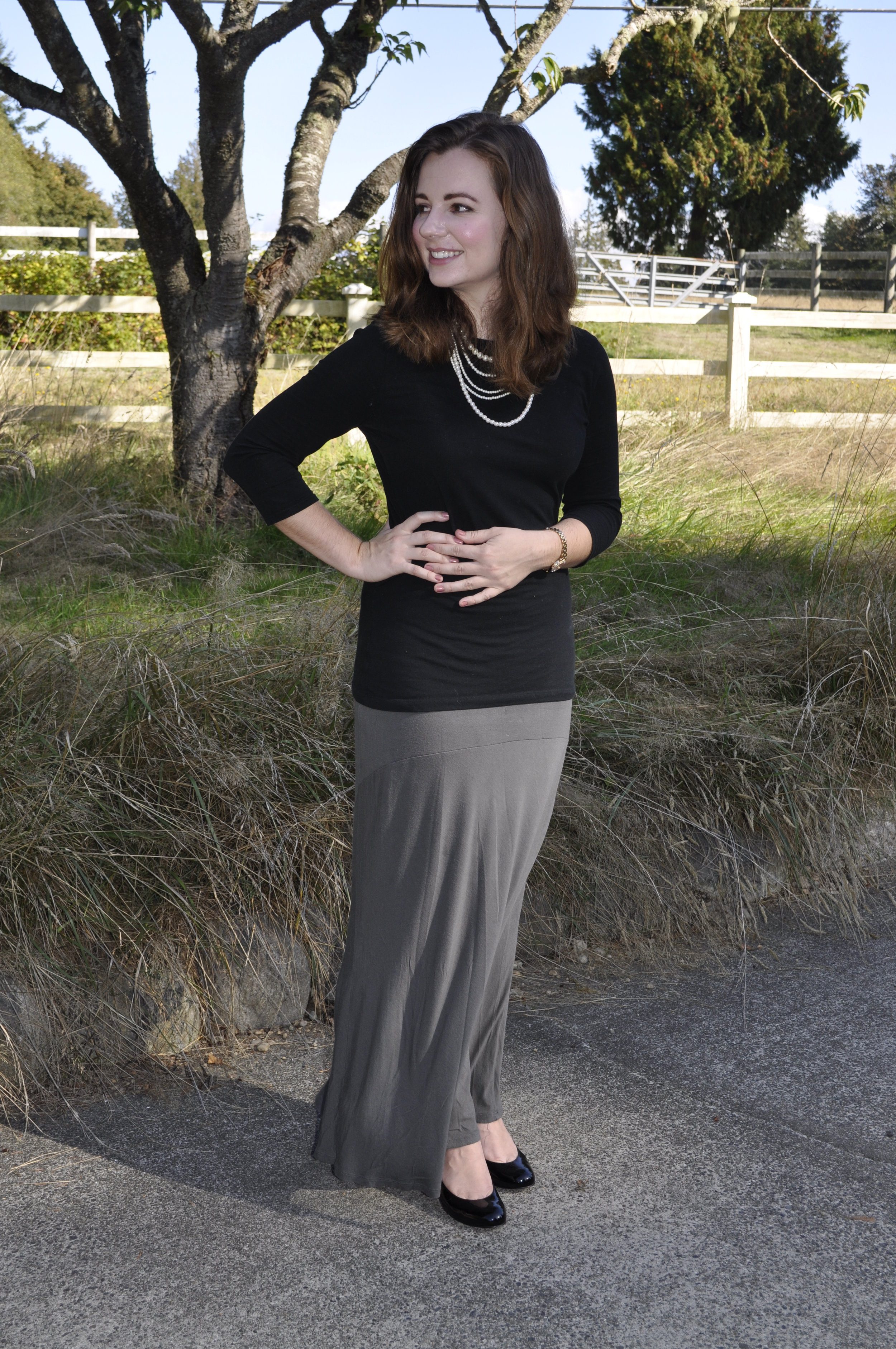 Maxi Skirt for Work
