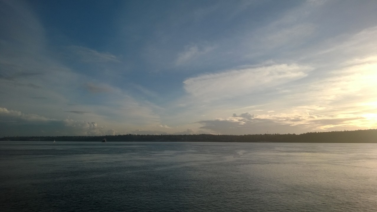 Northwest Pearls: View of the Puget Sound