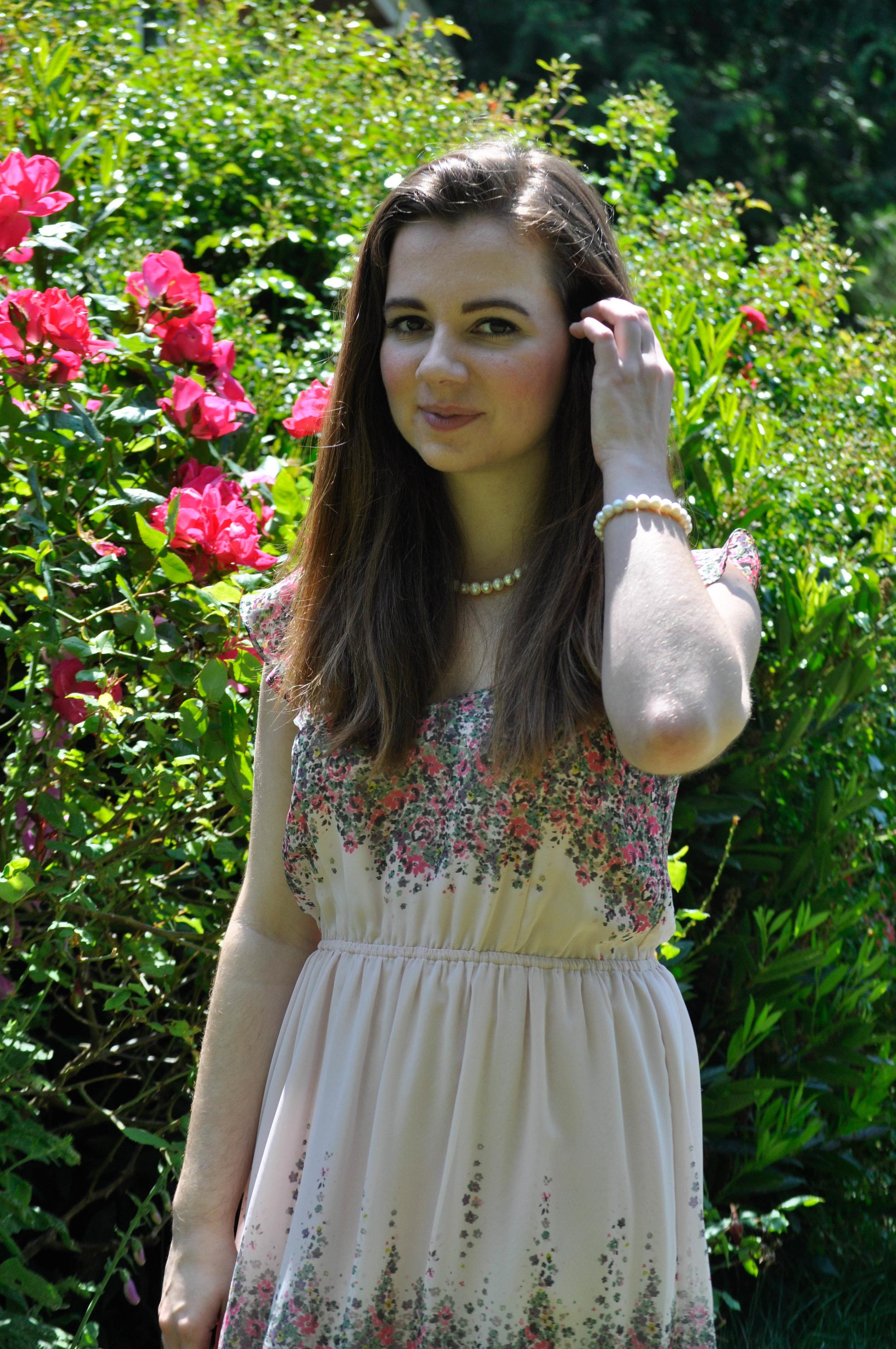 Northwest Pearls: LC Lauren Conrad Dress