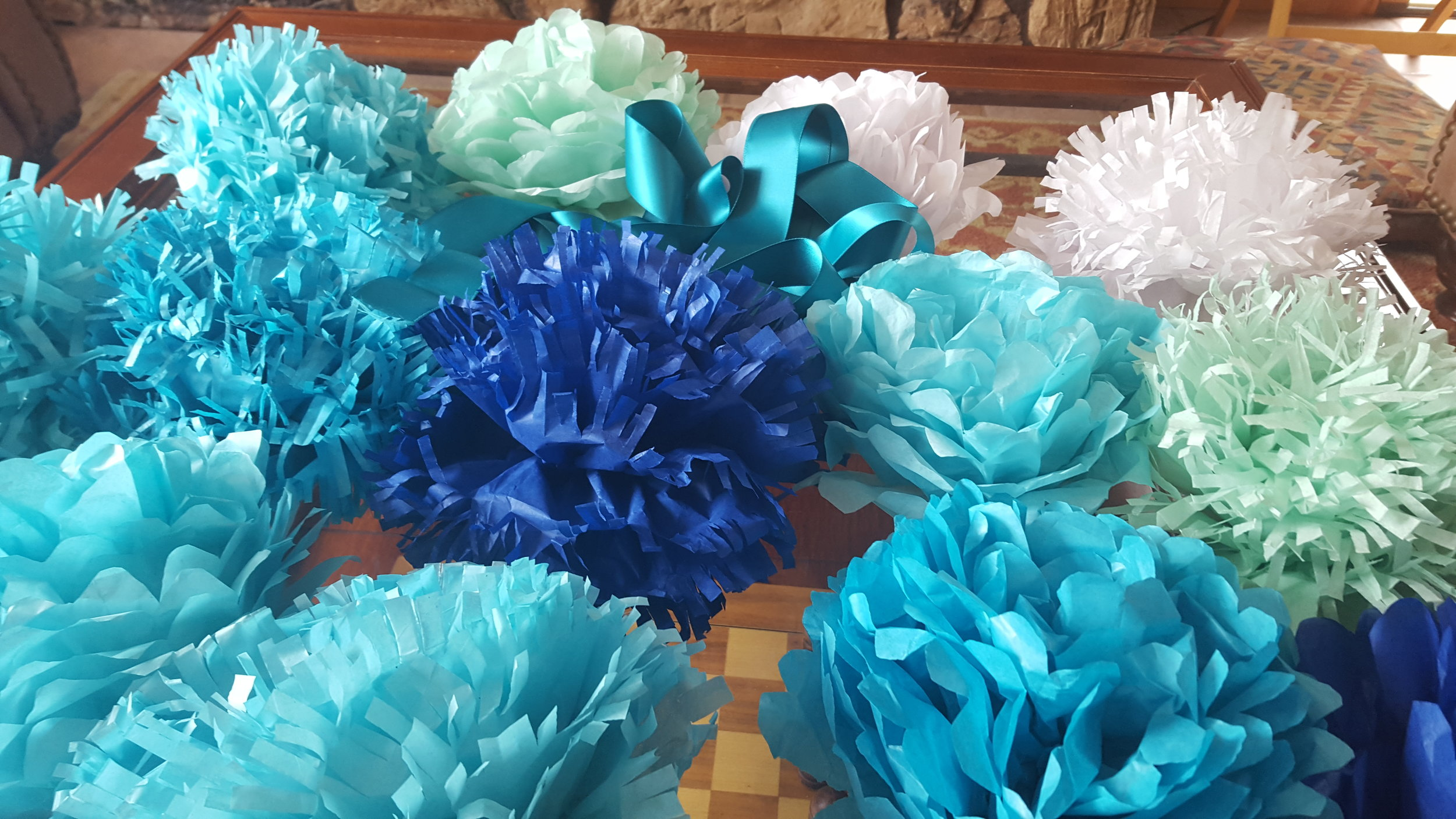Northwest Pearls: DIY Tissue Paper Flowers