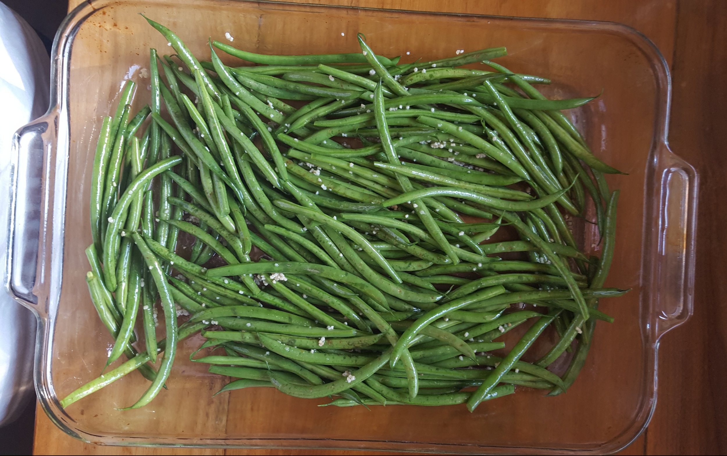 Northwest Pearls: Roasted Green Beans