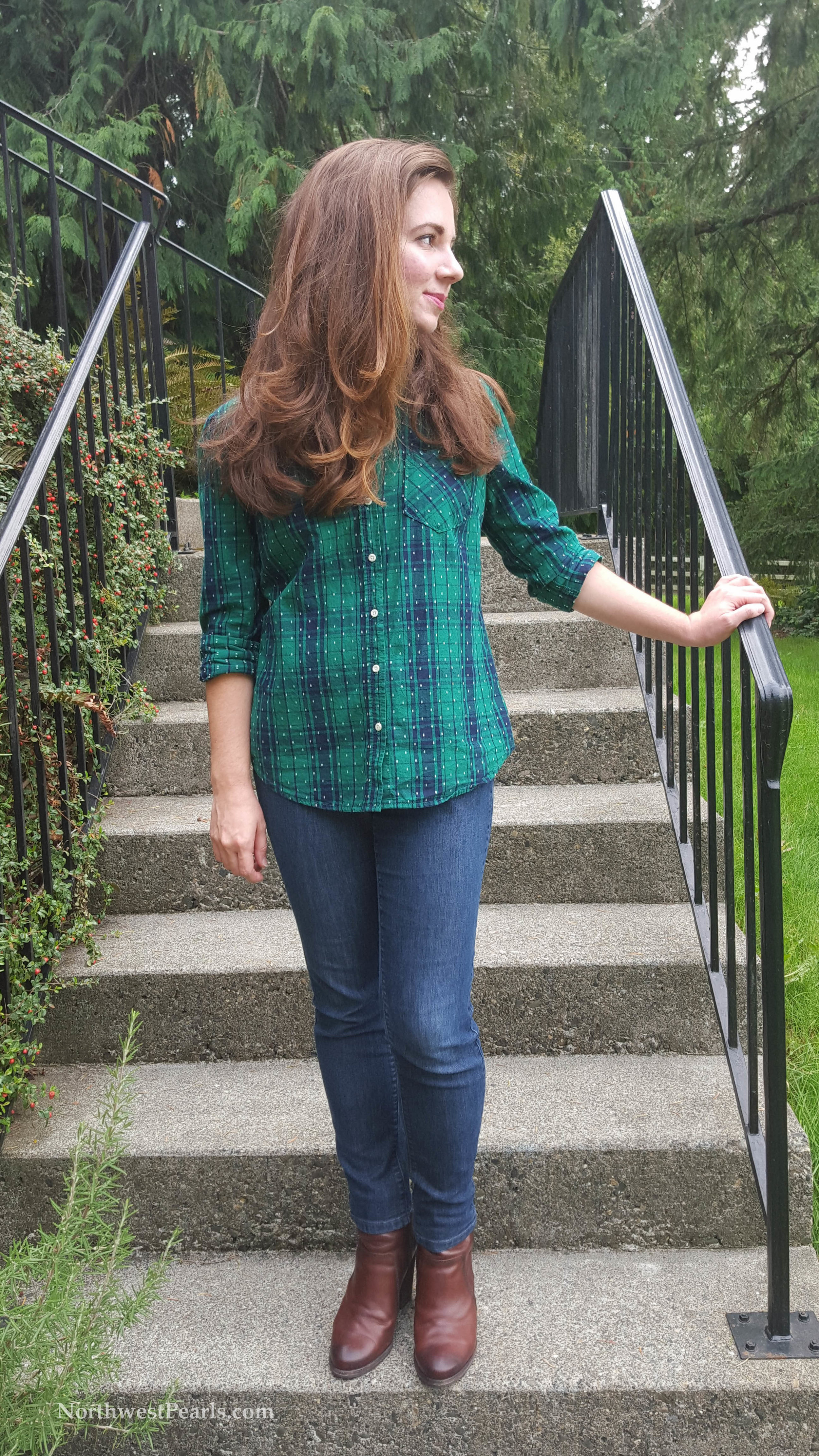 Northwest Pearls: Plaid for Fall
