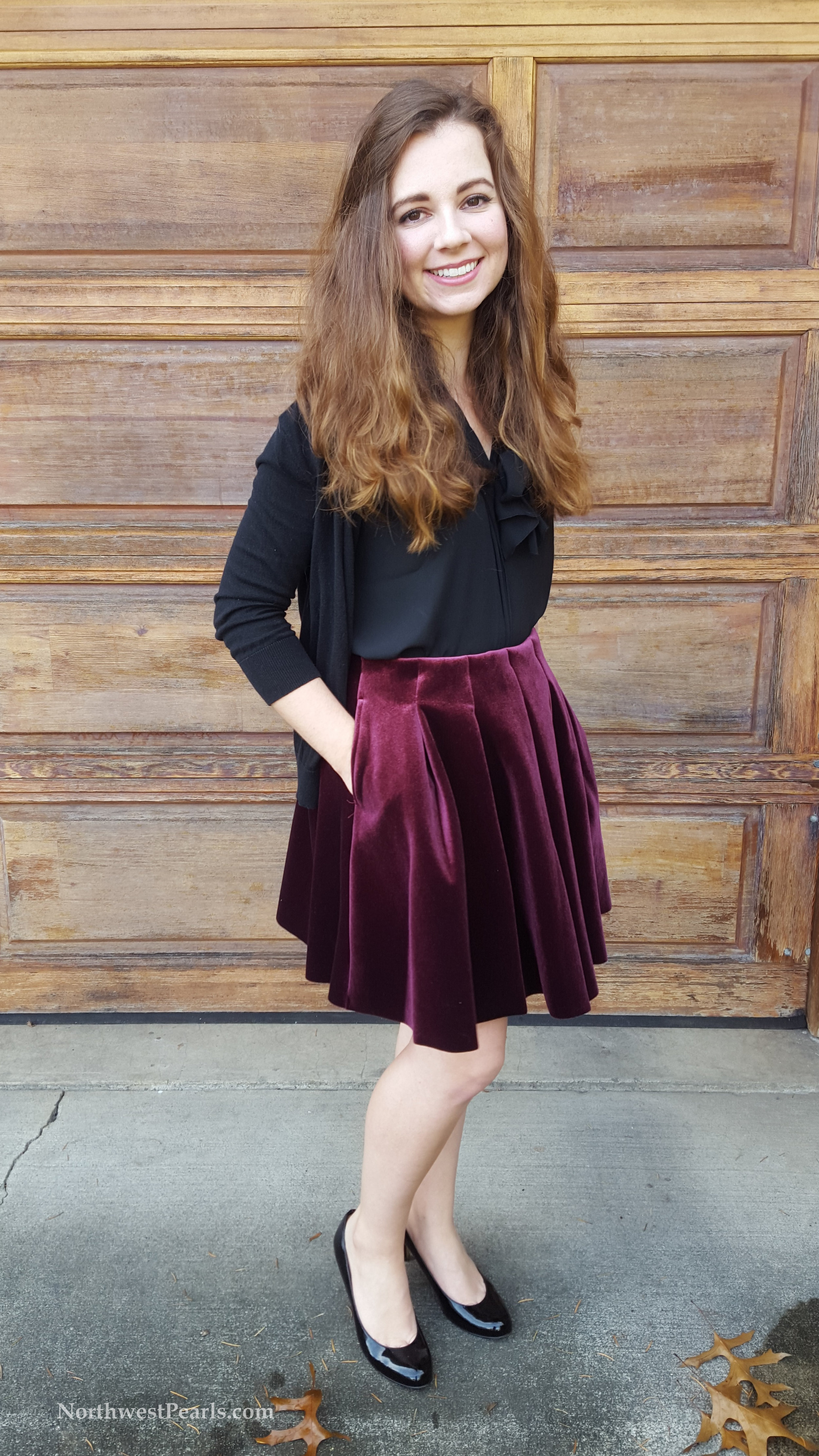 Northwest Pearls: Holiday OOTD