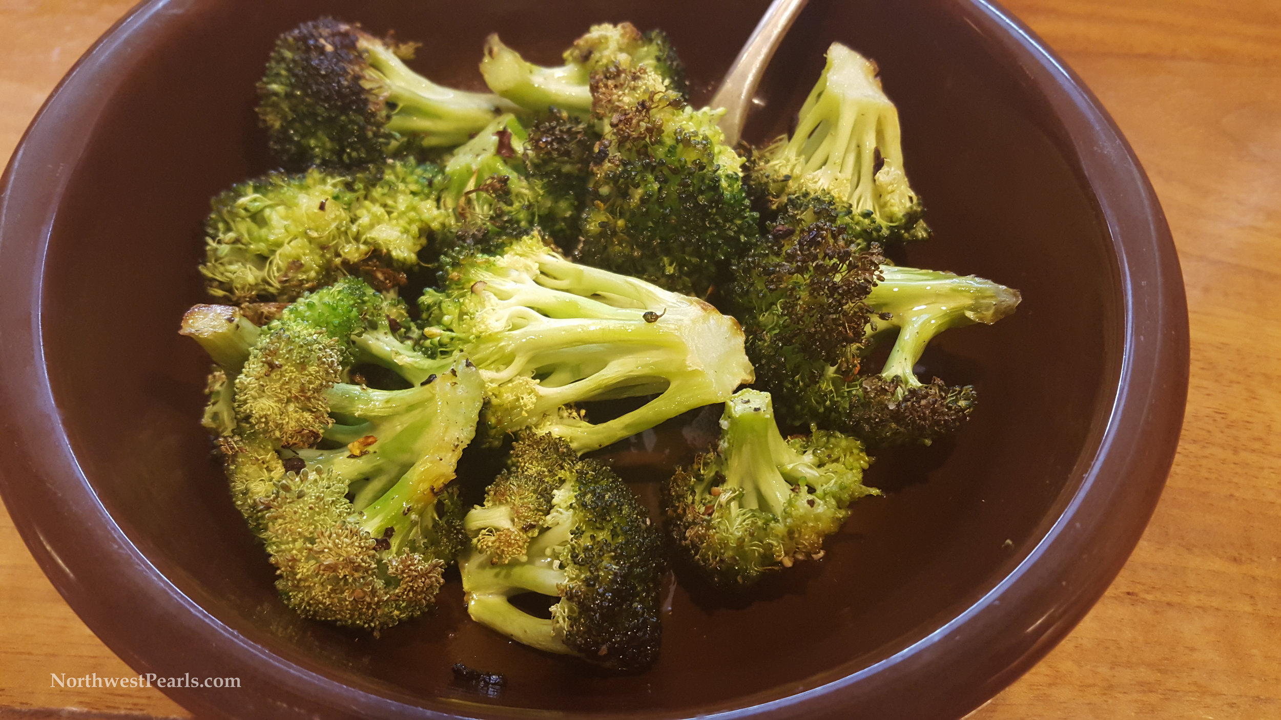 Northwest Pearls: Roasted Broccoli