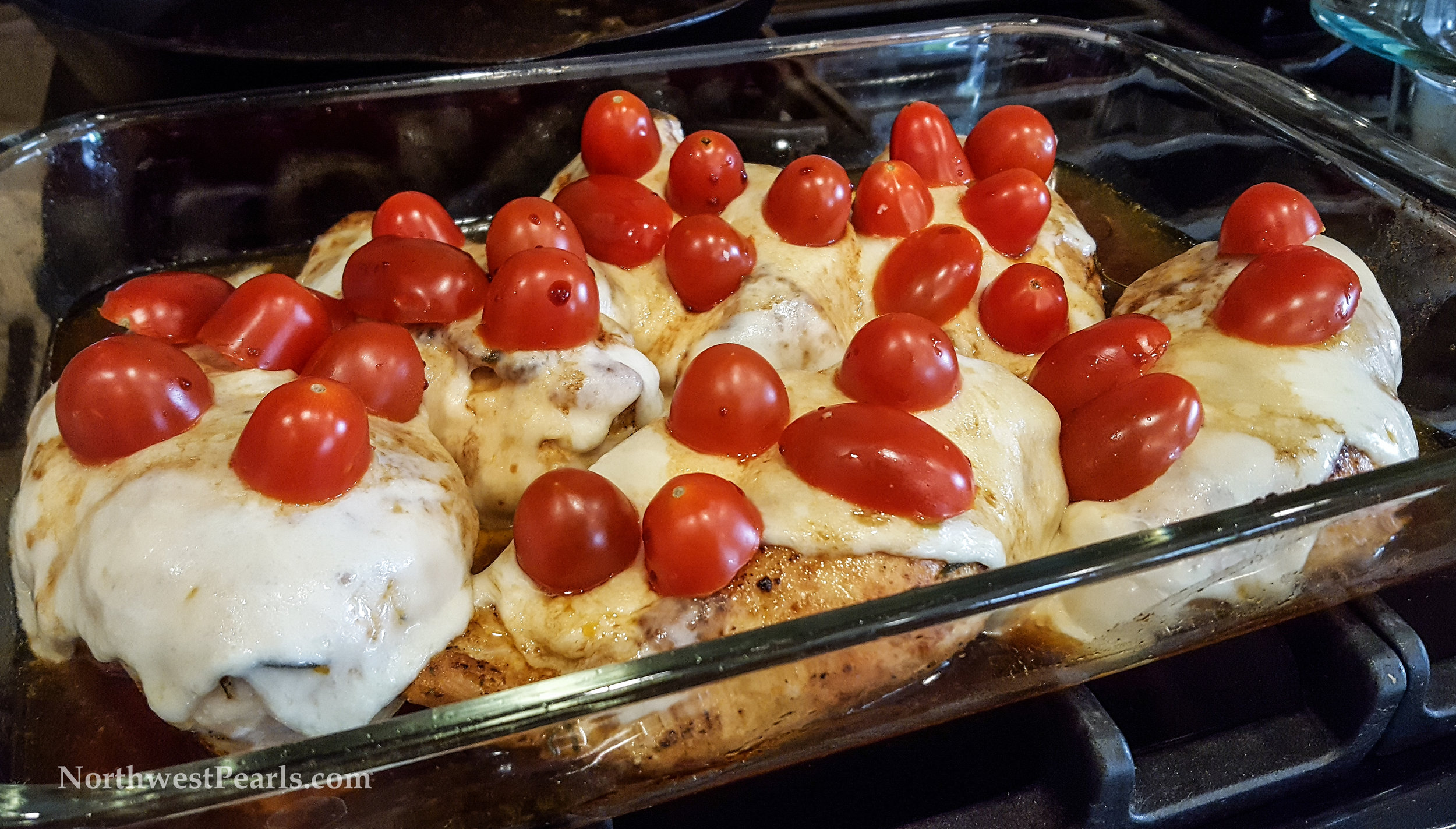 Northwest Pearls: Chicken Caprese
