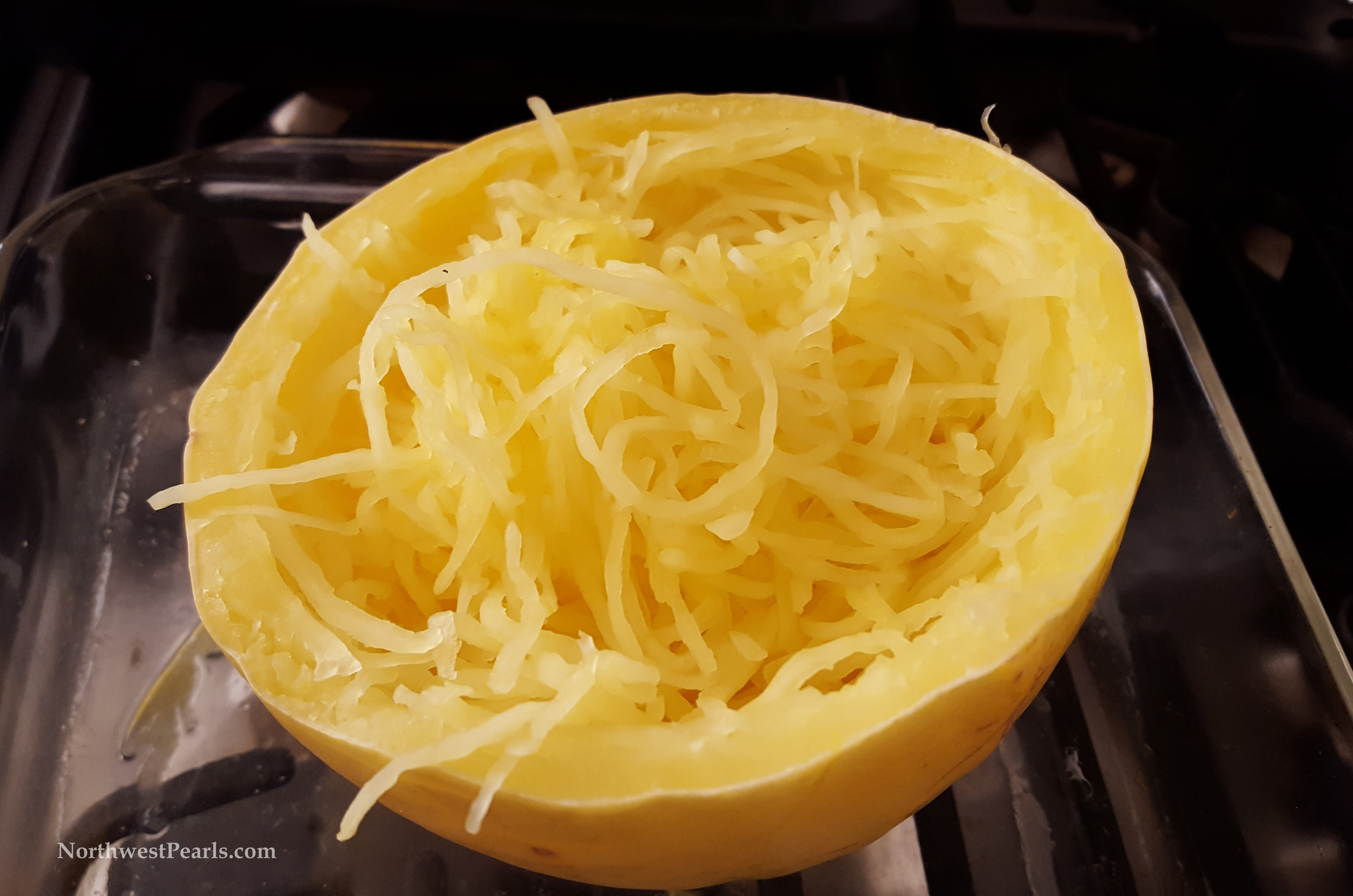 Northwest Pearls: Cooking Spaghetti Squash