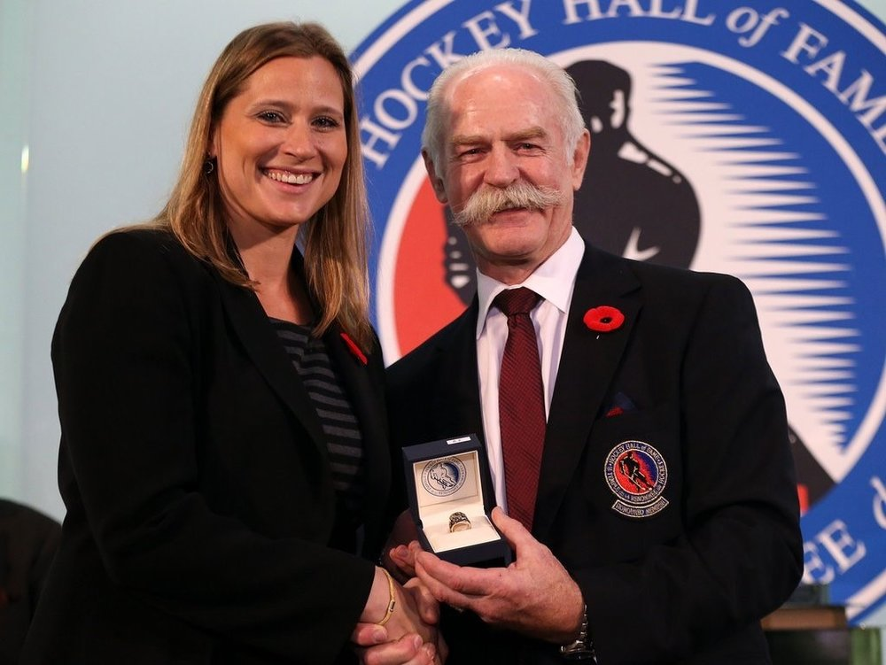 Angela Ruggiero was inducted into the Hockey Hall of Fame in 2015. Today, she is managing director of the Sports Innovation Lab and chief strategy officer of the 2028 Los Angeles Olympic bid committee. (Photo courtesy of Angelo Ruggiero)