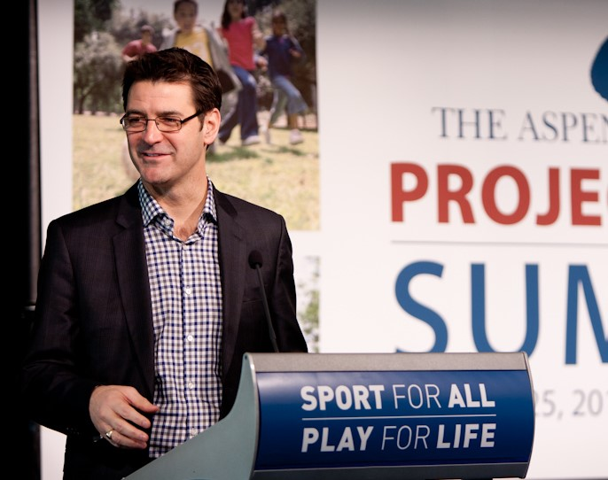 Tom Farrey announced the release of the  Sport for All, Play for Life  report in 2015, after two years of roundtables.