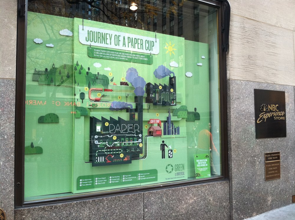 All Window Display | Green at NBCU C&aign | Healthy at NBCU Video | Johnsonu0027s Baby Branding | Bloomingdales Digital Event | Green at NBCU Concept | ManFan ... & Window Display | Green at NBCU u2014 Michele Gorham