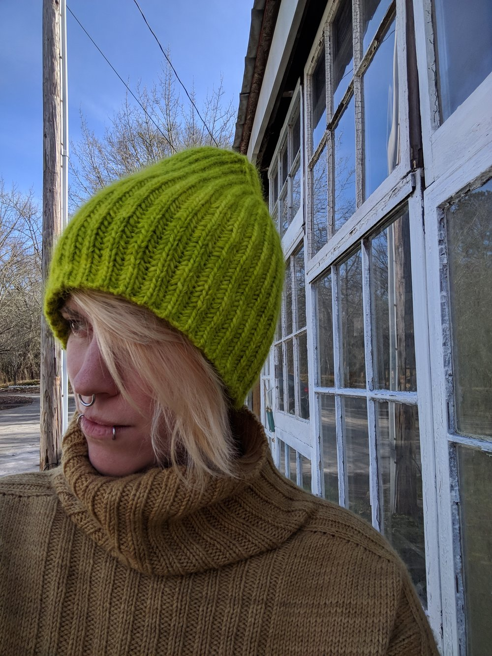 Meet Allison Jane! - Susan and Ellie met Allison Jane in a winery near the Montpelier Fiber Festival last summer. She was knitting and we handed her our card not even realizing the scope of her talents! Since then, we've learned that she is a world traveler and has been published in PomPom Quarterly, Interweave Knits, Berroco Porfolios, Quince & Co.,and many other knitting publications.Find out more about her and her original designs on her Ravelry page.