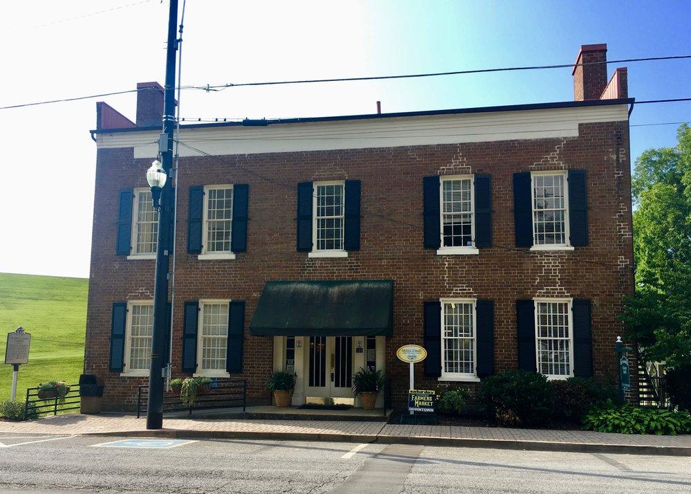 131 E. Main Street – Hickman Tavern circa 1820's.