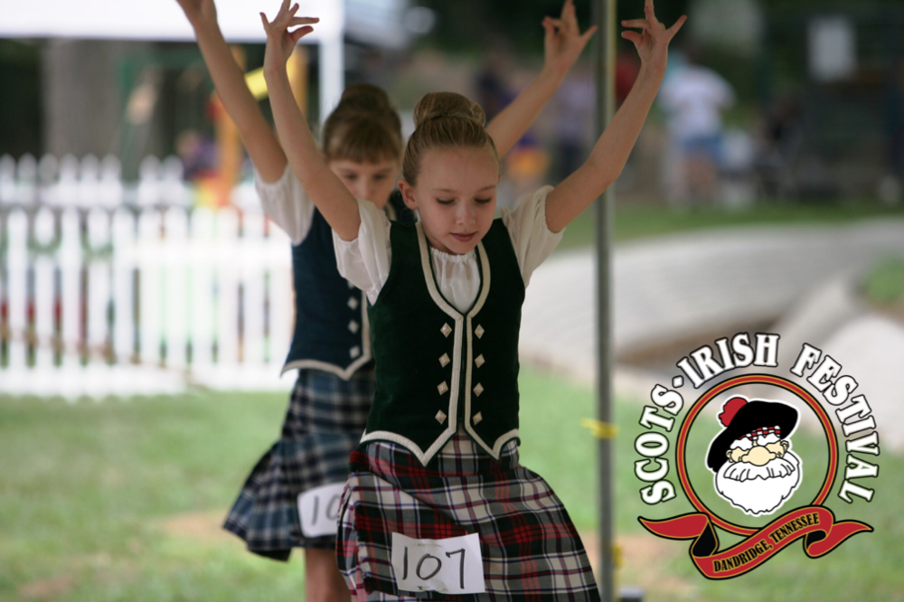 The 12th Annual Scots-Irish Festival takes place Saturday, September 29, 2018 in Dandridge, TN.