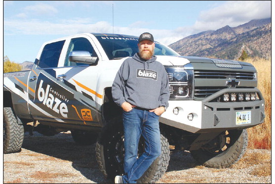 Eric Green's Blaze Controller is a wireless system that allows people to control aftermarket lights on their vehicles.