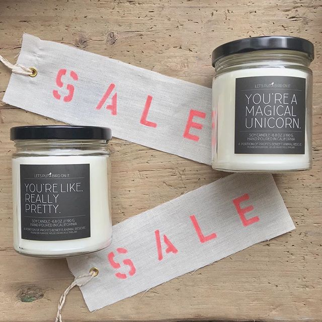 Happy Friday! Need a gift, but not sure what to get?! Candles are always a good idea — especially local non-toxic soy ones (just sayin)🤷♀️ And lucky for you these babies are on sale!  We will be at the shop from 11-4 tomorrow and would love some visitors😉