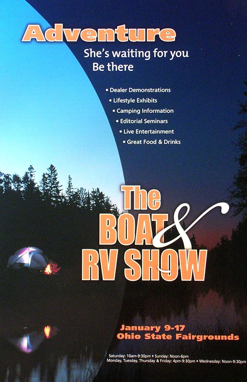 COLUMBUS BOAT AND RV SHOW