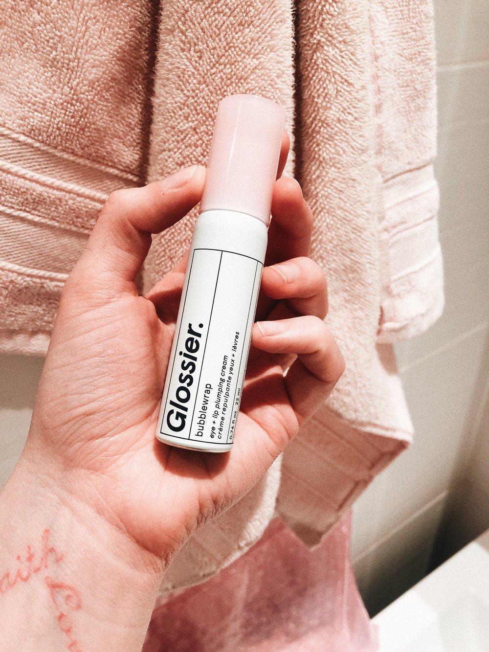 Bubblewrap Eye & Lip Plumping Cream by Glossier #6
