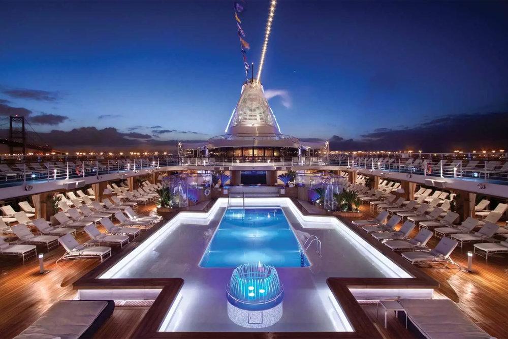 Oceania Cruise Deck