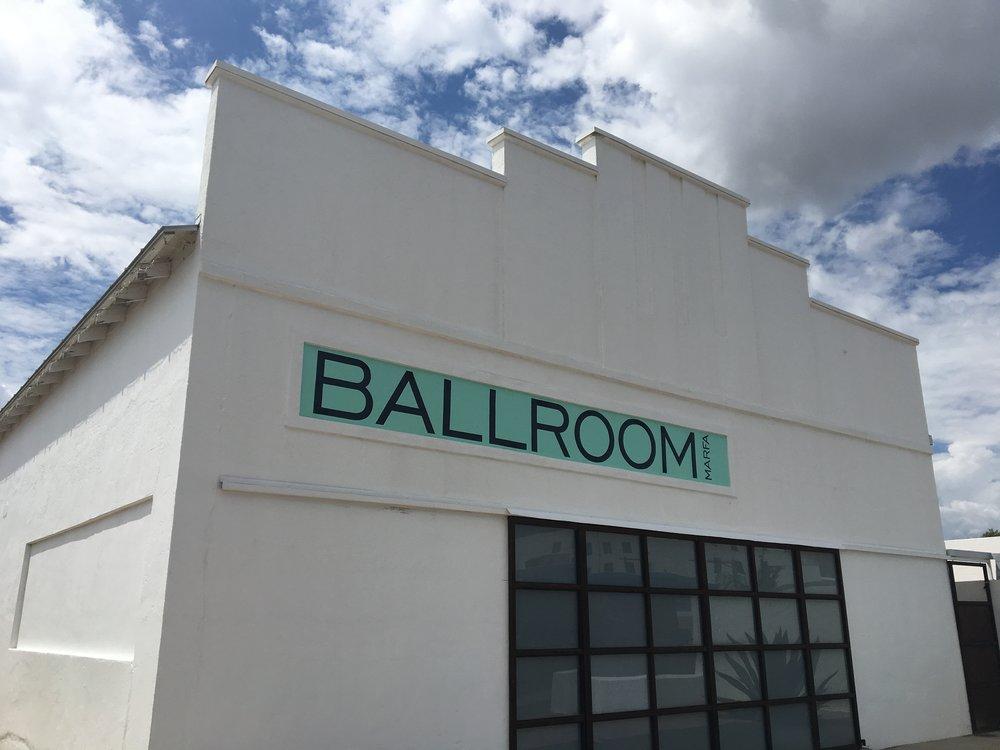 Ballroom Marfa Gallery
