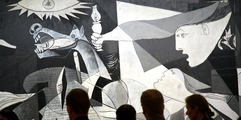 What Were They Thinking Guernica Do Not Touch