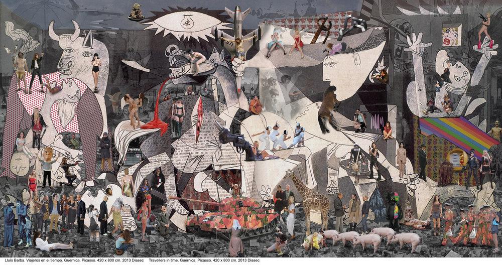 Lluis Barba, Guernica, 2013