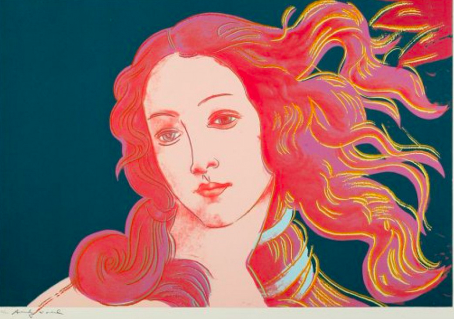 Andy Warhol, Birth of Venus, 1984