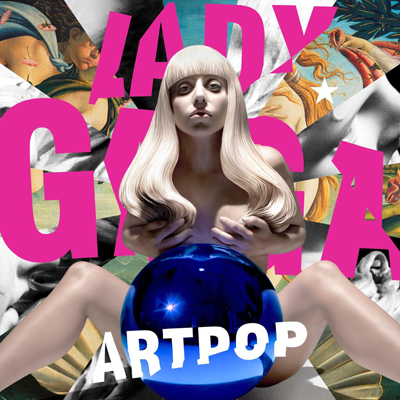 Jeff Koons album art for Lady Gaga