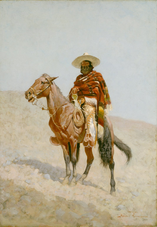Frederic Remington, A Mexican Vaquero, 1890