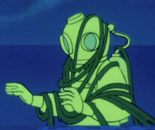 Ghost of Captain Cutler,  A Clue for Scooby-Doo , Scooby-Doo, Where Are You?