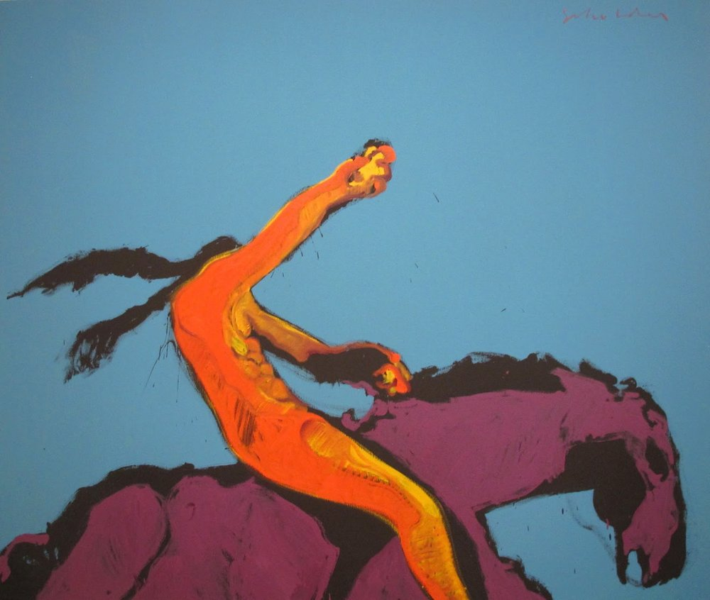Fritz Scholder,  Indian Power , 1972. Though Scholder never formally aligned himself with an activist organization, this image became a popular poster among Native American citizens in the 1970s.