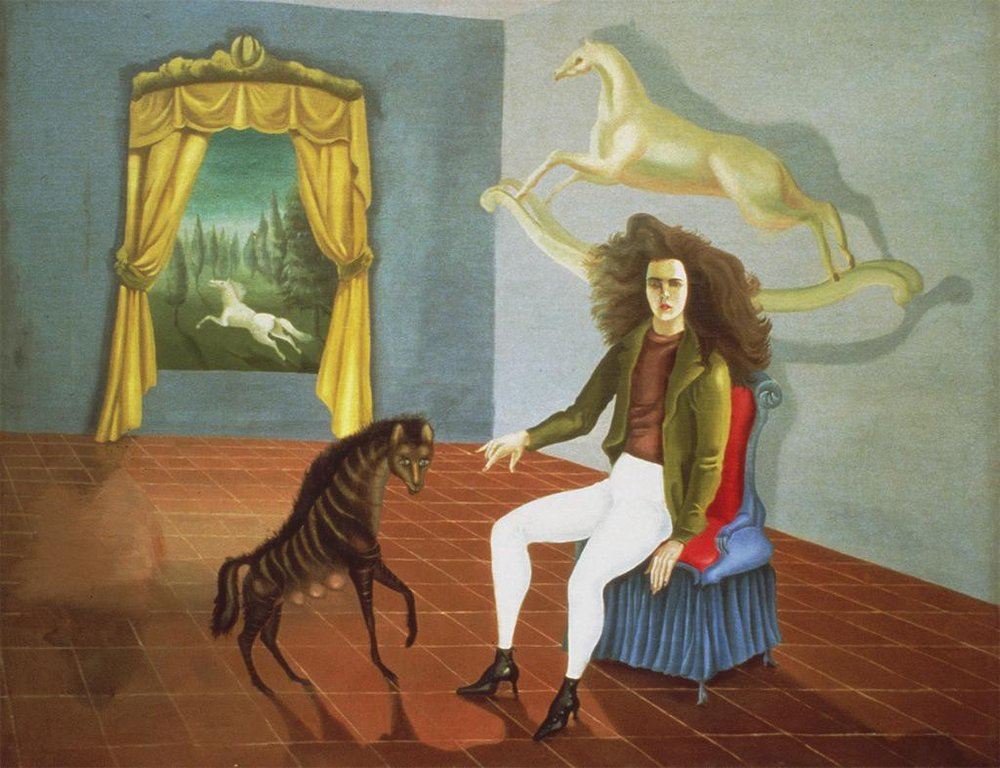 Leonora Carrington -  Self-Portrait  - 1937-38 - oil on canvas
