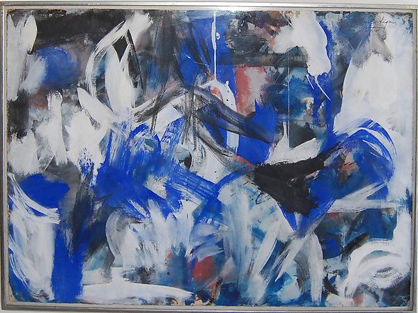 Grace Hartigan -  Untitled  - 1952 - oil on paper