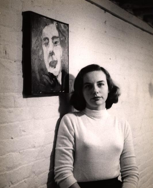 Photograph of Grace Hartigan