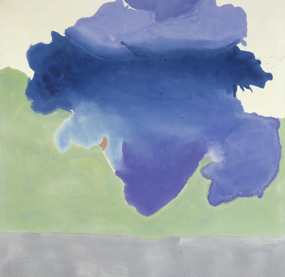 Helen Frankenthaler -  The Bay  - 1963