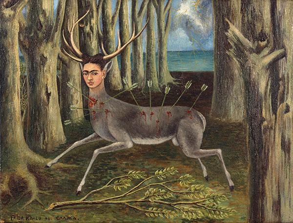 Frida Kahlo - La Venadita (Little Deer) - 1946